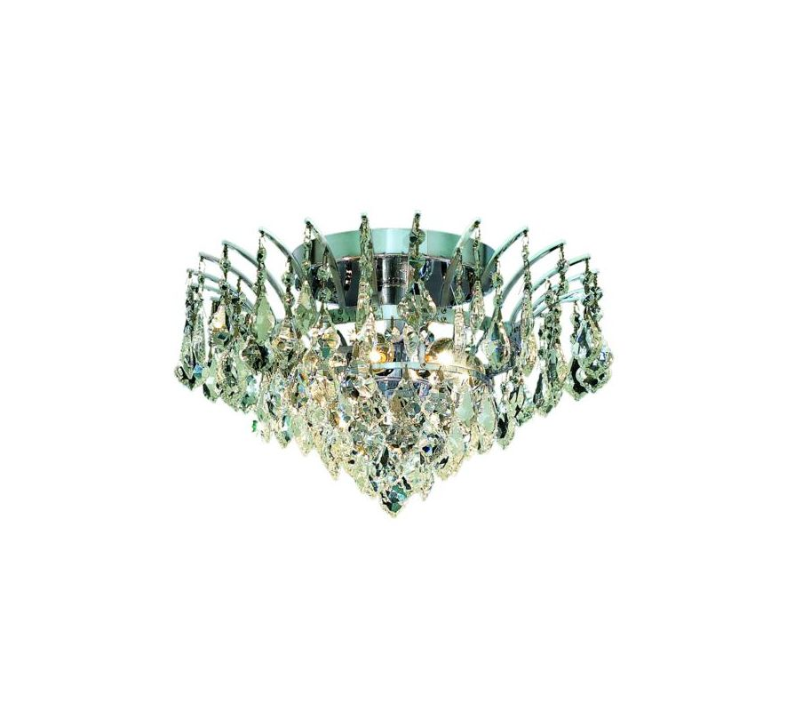 Elegant Lighting 8033F16C Victoria 6-Light Single-Tier Flush Mount Sale $520.00 ITEM: bci2015930 ID#:8033F16C/EC UPC: 848145066716 :