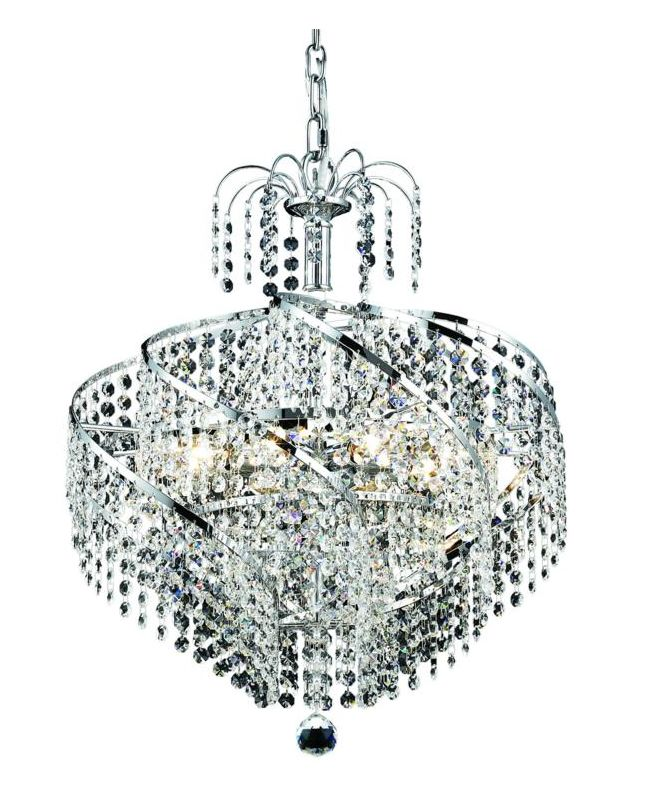 Elegant Lighting 8052D18C Spiral 8-Light Single-Tier Crystal Sale $726.00 ITEM: bci2015962 ID#:8052D18C/EC UPC: 848145067034 :