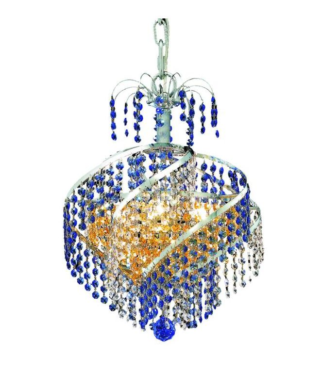 Elegant Lighting 8053D14C Spiral 3-Light Single-Tier Crystal Sale $1688.00 ITEM: bci2016018 ID#:8053D14C/SS UPC: 848145067607 :