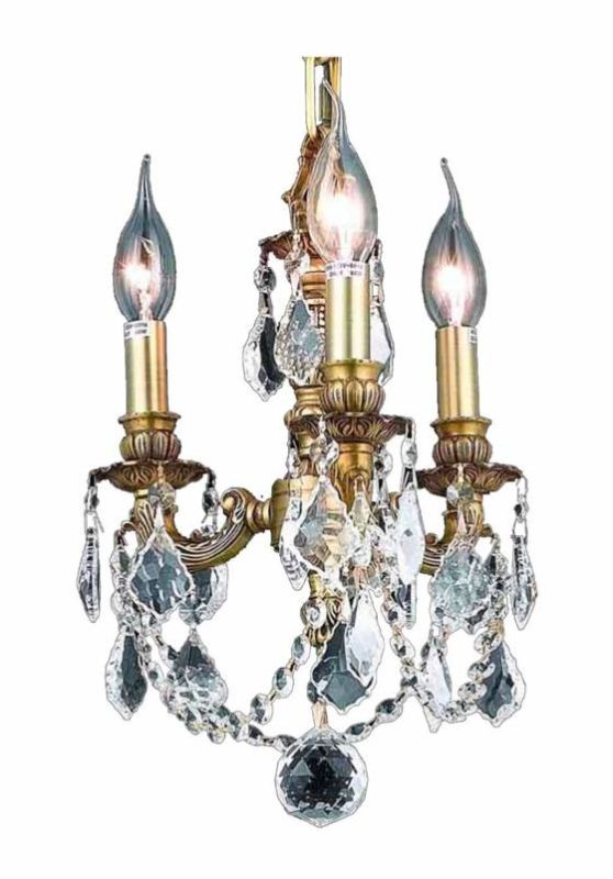 Elegant Lighting 9103D10FG Lillie 3-Light Single-Tier Crystal Sale $906.00 ITEM: bci2016154 ID#:9103D10FG/SS UPC: 848145069694 :