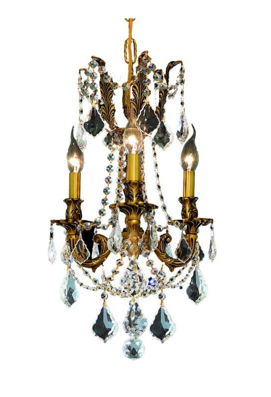 Elegant Lighting 9203D13FG Rosalia 3-Light Single-Tier Crystal Sale $502.00 ITEM: bci2016213 ID#:9203D13FG/RC UPC: 848145070393 :