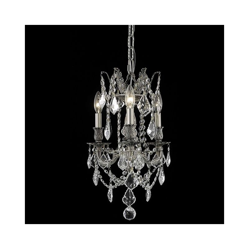 Elegant Lighting 9203D13PW Rosalia 3-Light Single-Tier Crystal Sale $552.00 ITEM: bci2016220 ID#:9203D13PW/EC UPC: 848145070447 :