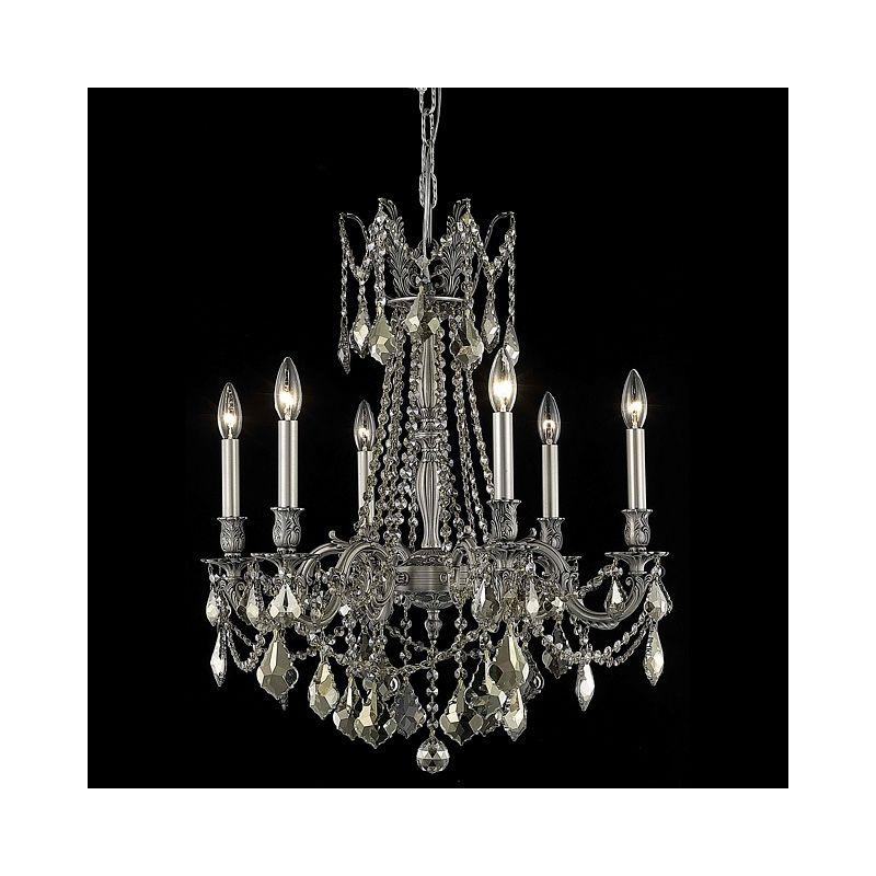 Elegant Lighting 9206D23PW-GT Rosalia 6-Light Single-Tier Crystal Sale $1382.00 ITEM: bci2016375 ID#:9206D23PW-GT/RC UPC: 848145073158 :