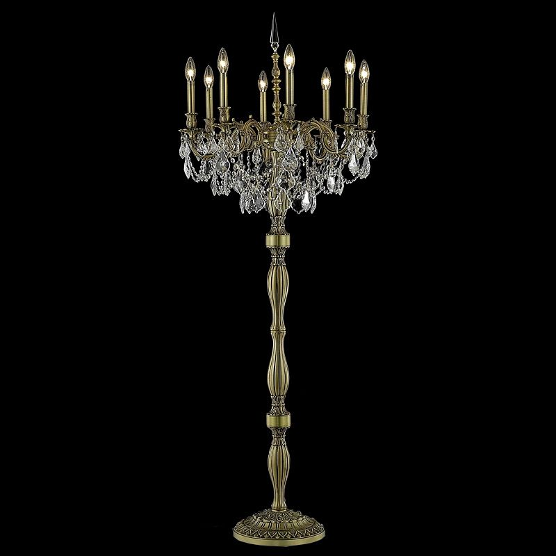 Elegant Lighting 9208FL24FG Rosalia 8-Light Crystal Floor Lamp Sale $2312.00 ITEM: bci2016396 ID#:9208FL24FG/EC UPC: 848145073790 :