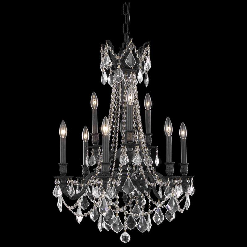 Elegant Lighting 9209D23DB Rosalia 9-Light Two-Tier Crystal Sale $2262.00 ITEM: bci2016415 ID#:9209D23DB/SA UPC: 848145073998 :