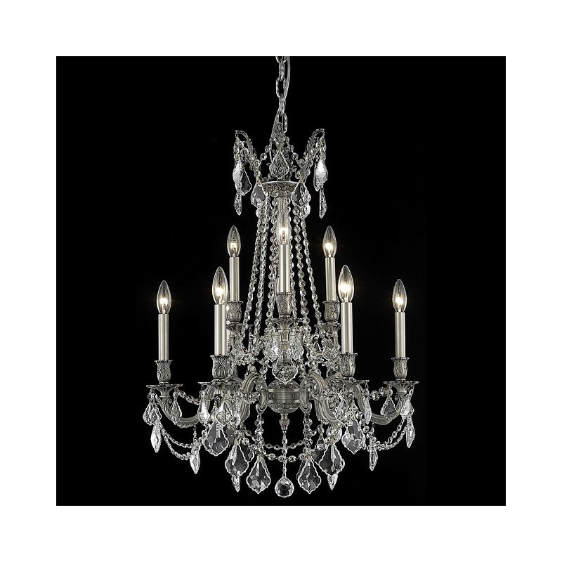 Elegant Lighting 9209D23PW Rosalia 9-Light Two-Tier Crystal Sale $2262.00 ITEM: bci2016425 ID#:9209D23PW/SA UPC: 848145074117 :