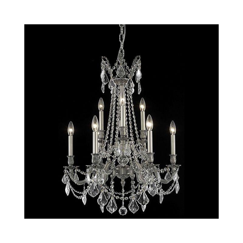 Elegant Lighting 9209D23PW Rosalia 9-Light Two-Tier Crystal Sale $1892.00 ITEM: bci2016423 ID#:9209D23PW/RC UPC: 848145074100 :