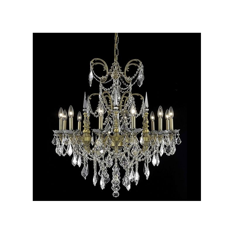 Elegant Lighting 9712D32FG Athena 12-Light Single-Tier Crystal Sale $4420.00 ITEM: bci2017117 ID#:9712D32FG/SA UPC: 848145079242 :