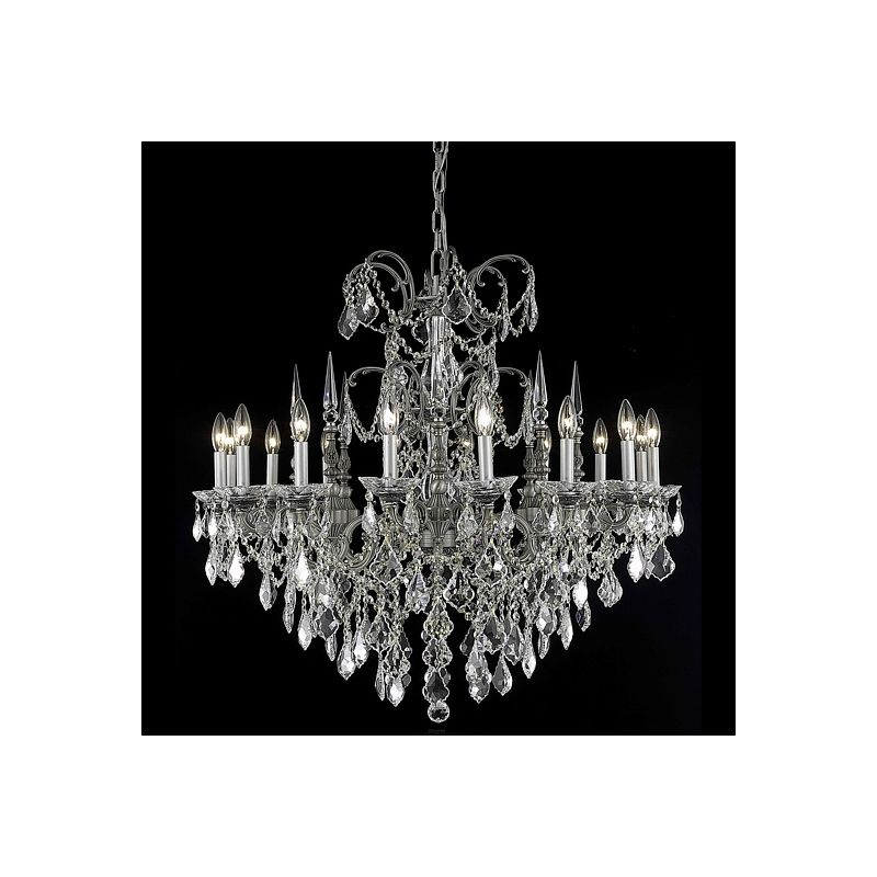 Elegant Lighting 9716D35PW Athena 16-Light Single-Tier Crystal Sale $5780.00 ITEM: bci2017135 ID#:9716D35PW/SA UPC: 848145079488 :