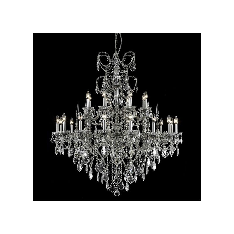 Elegant Lighting 9724G44PW Athena 24-Light Two-Tier Crystal Sale $6210.00 ITEM: bci2017145 ID#:9724G44PW/RC UPC: 848145079655 :