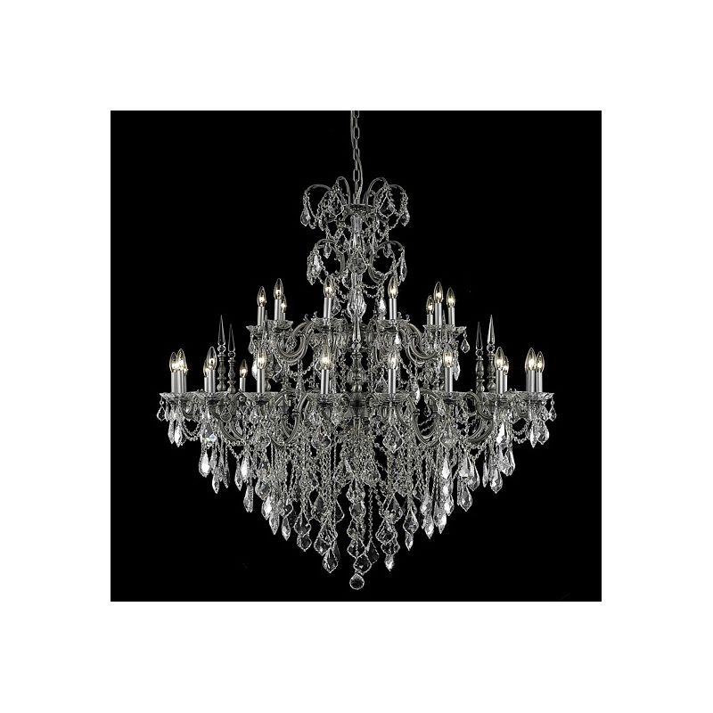 Elegant Lighting 9730G53PW Athena 30-Light Two-Tier Crystal Sale $12918.00 ITEM: bci2017158 ID#:9730G53PW/EC UPC: 848145079822 :