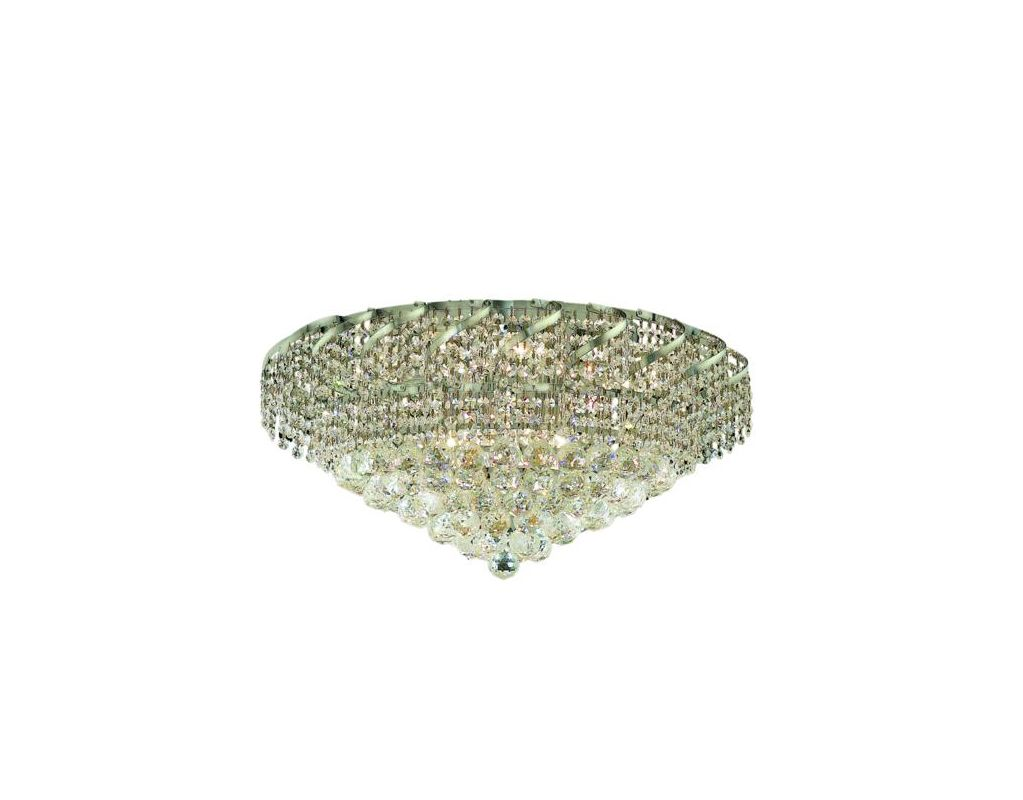 Elegant Lighting ECA1F26C Belenus 10-Light Single-Tier Flush Mount