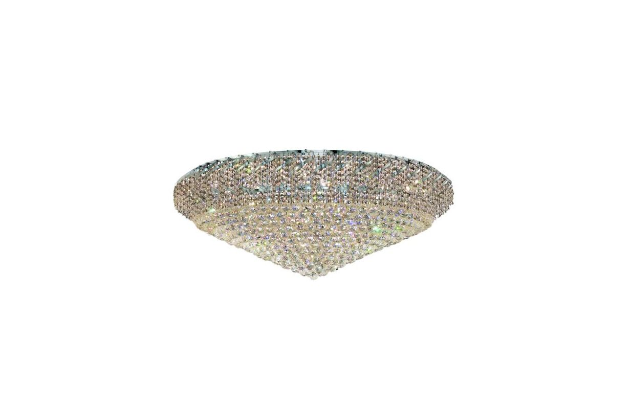 Elegant Lighting ECA1F48C Belenus 36-Light Single-Tier Flush Mount