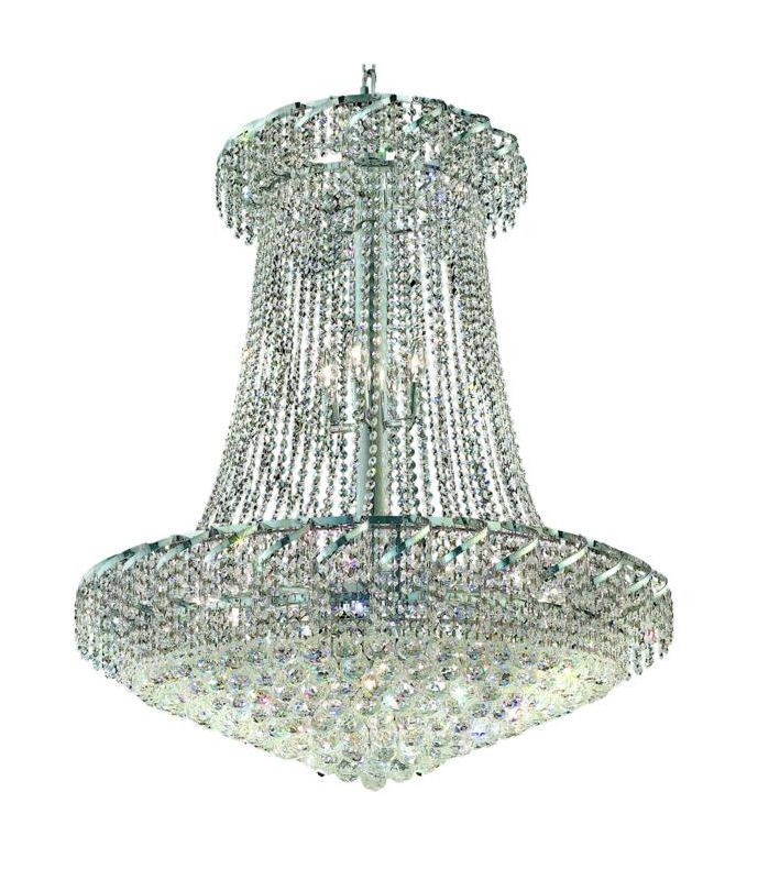 Elegant Lighting ECA1G36SC Belenus 22-Light Two-Tier Crystal