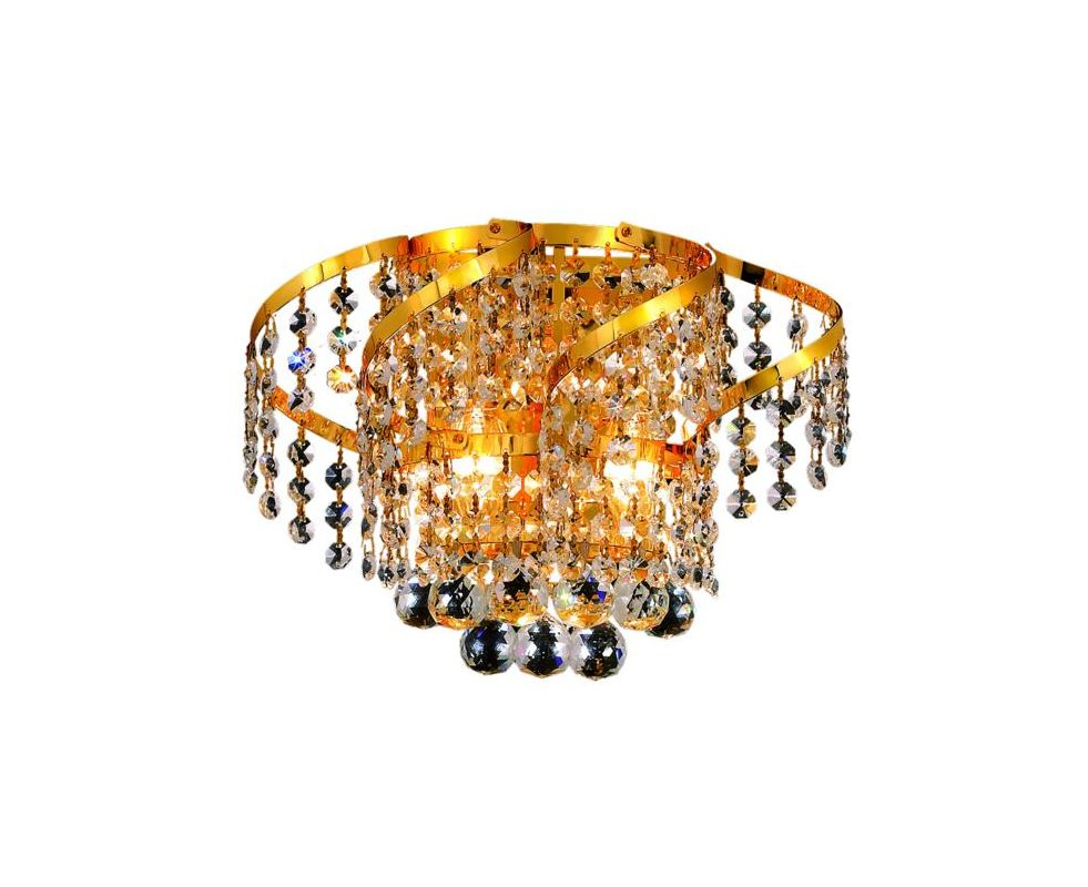 Elegant Lighting ECA1W12G Belenus 2-Light Crystal Wall Sconce Sale $488.00 ITEM: bci2017381 ID#:ECA1W12G/SA UPC: 848145081801 :