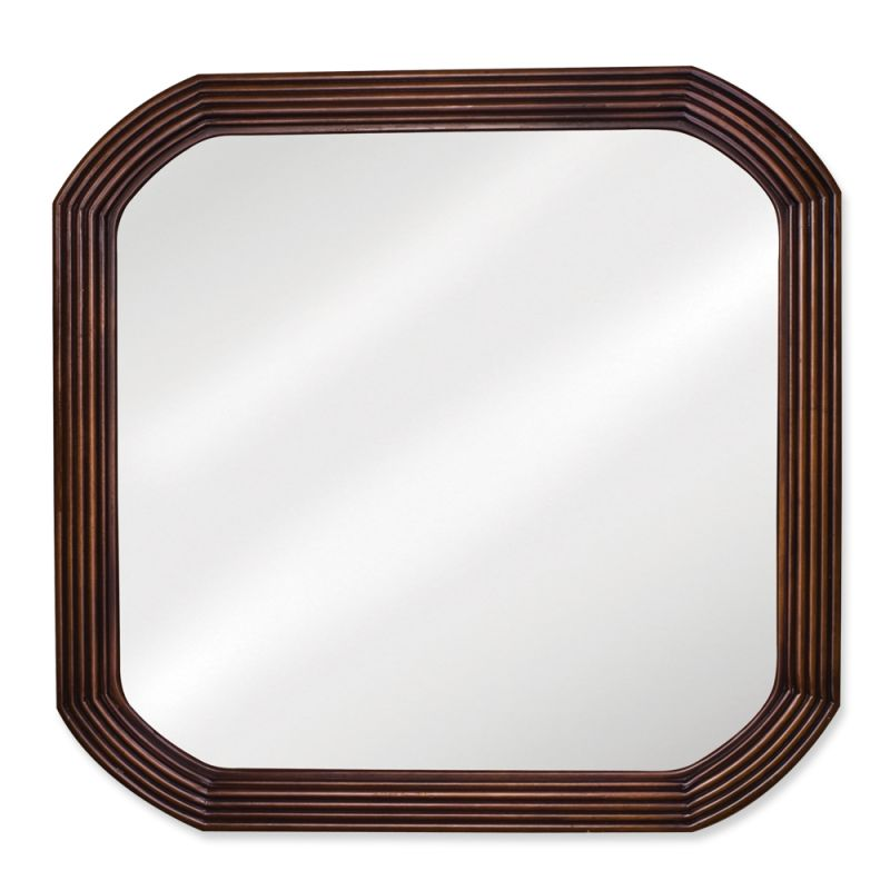 Elements MIR025 Tesla Collection Rounded 26 x 26 Inch Vanity Mirror