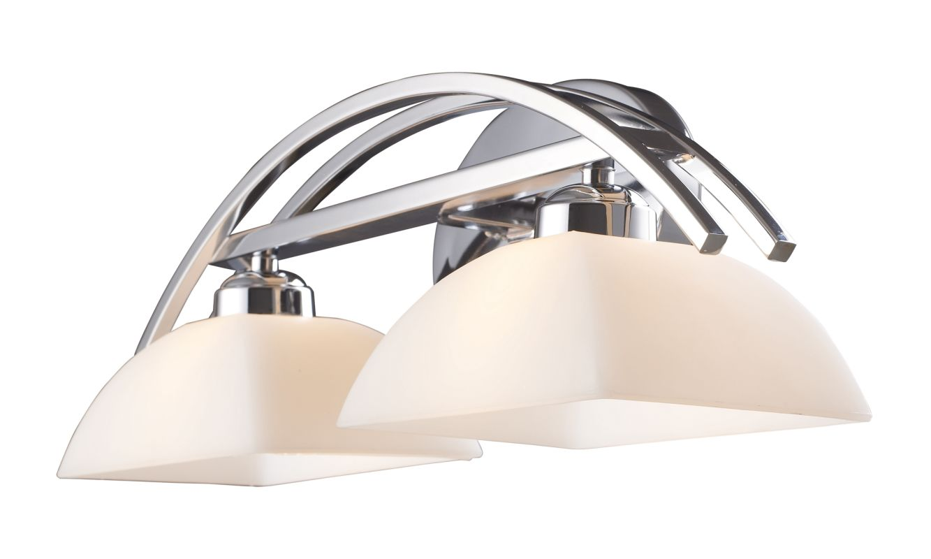 Elk Lighting 10031/2 Arches 2 Light 20&quote Vanity Fixture with Frosted
