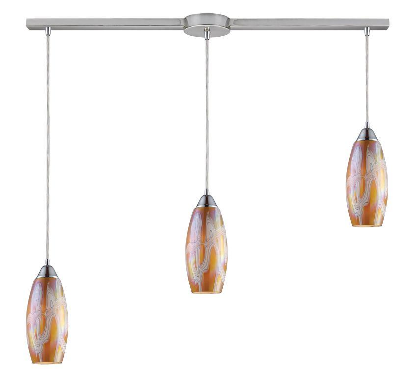 Elk Lighting 10076/3L Three Light Down Lighting Island / Billiard Sale $570.00 ITEM: bci964091 ID#:10076/3L-GI UPC: 748119010595 :