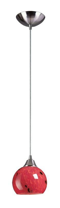 "Elk Lighting 101-1 Mela Single Light 6"" Wide Mini Pendant with Round"