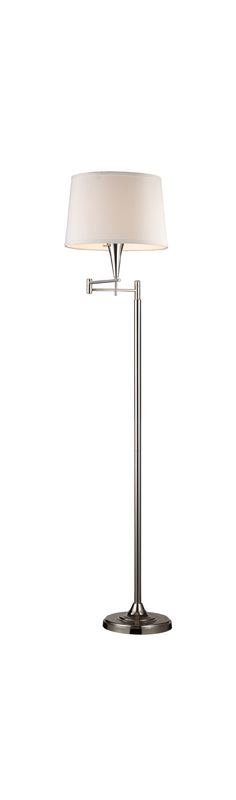 Elk Lighting 10109/1 Single Light Swing Arm Floor Lamp from the