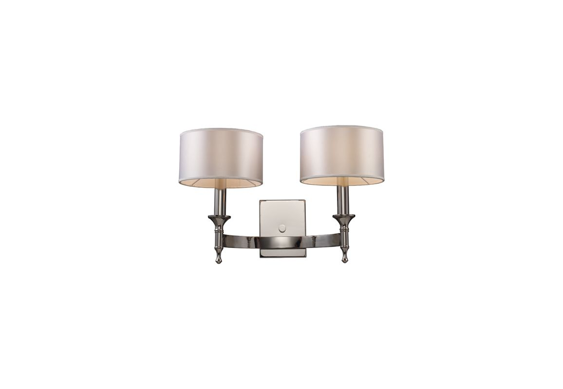 Elk Lighting 10122/2 Two Light Wall Sconce from the Pembroke