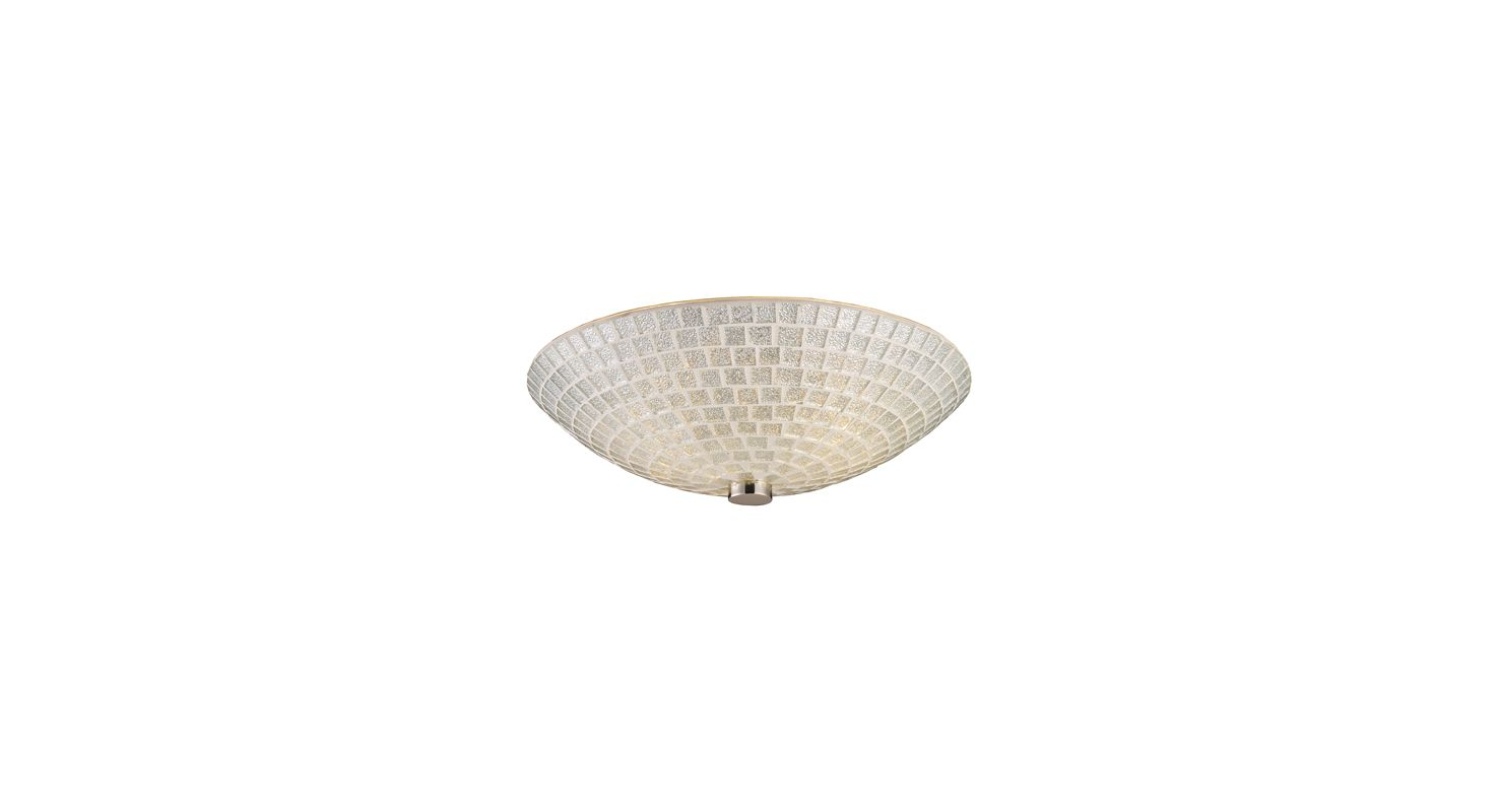 Elk Lighting 10139/2 Two Light Semi-Flush Ceiling Fixture from the Sale $134.00 ITEM: bci1287822 ID#:10139/2SLV UPC: 748119012278 :