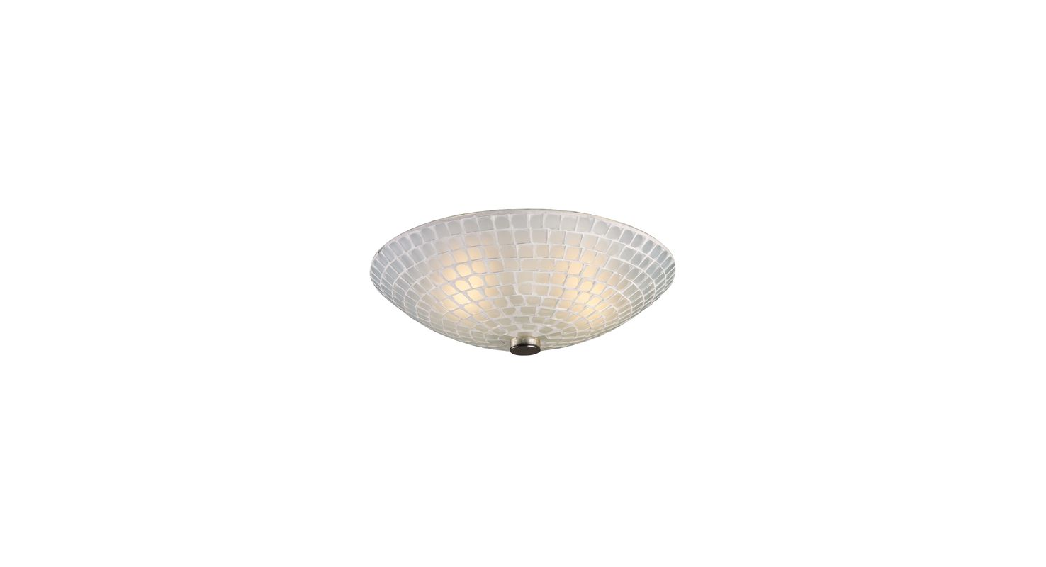 Elk Lighting 10139/2 Two Light Semi-Flush Ceiling Fixture from the Sale $134.00 ITEM: bci1287823 ID#:10139/2WHT UPC: 748119012254 :