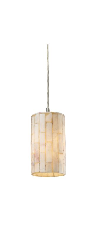 "Elk Lighting 10147/1 Coletta Single Light 4"" Wide Mini Pendant with"