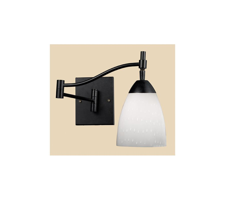 Elk Lighting 10151/1 Single Light Swing Arm Wall Sconce from the