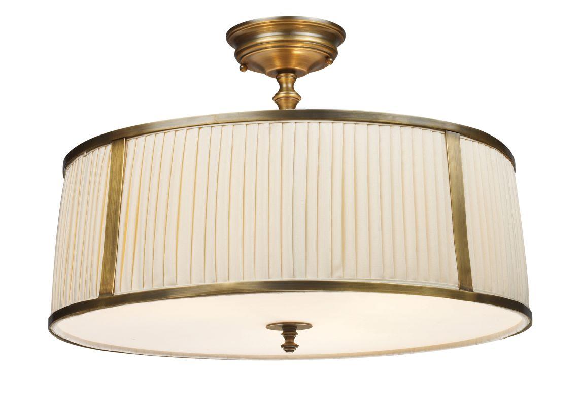 Elk Lighting 11055/4 Williamsport 4 Light Semi-Flush Ceiling Fixture