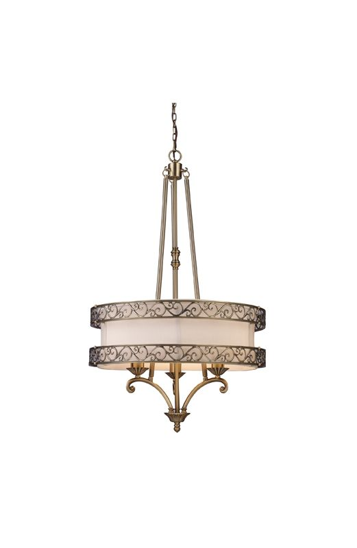 Elk Lighting 11218/3 Three Light Chandelier from the Abington Sale $718.00 ITEM: bci1287373 ID#:11218/3 UPC: 748119020037 :