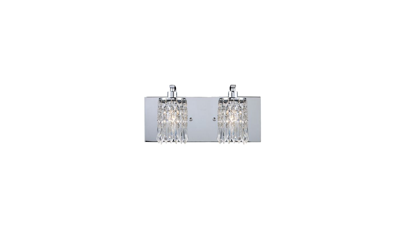 Elk Lighting 11229/2 Polished Chrome Contemporary Optix Bathroom Light Sale $244.00 ITEM: bci1712318 ID#:11229/2 UPC: 748119023199 :