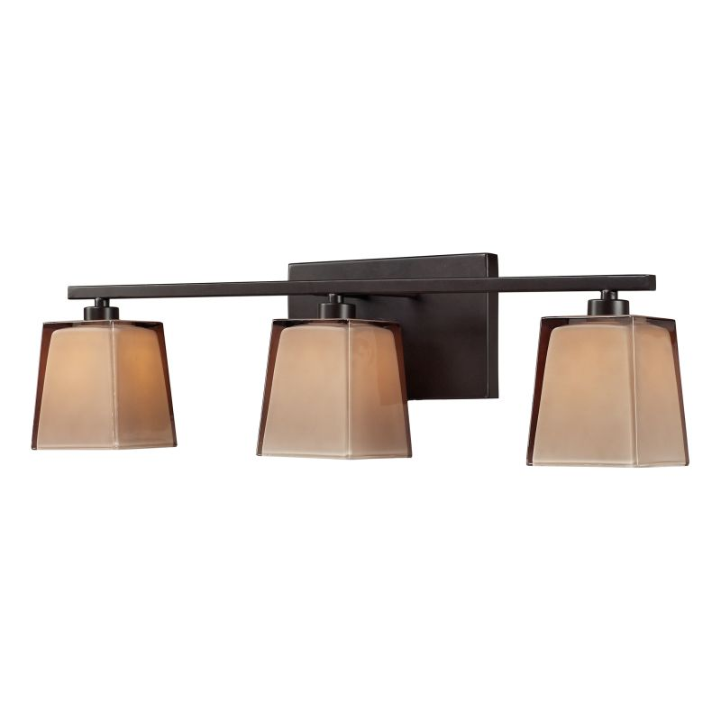 "Elk Lighting 11438/3 Serenity 3 Light 23"" Bath Bar with Frosted Glass"