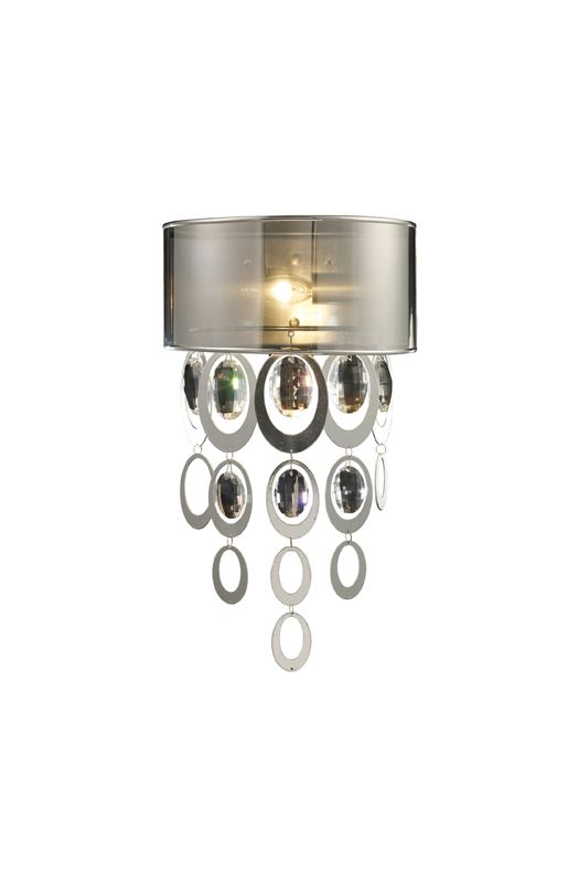 Elk Lighting 14060/1 Silver Leaf Contemporary Parisienne Wall Sconce