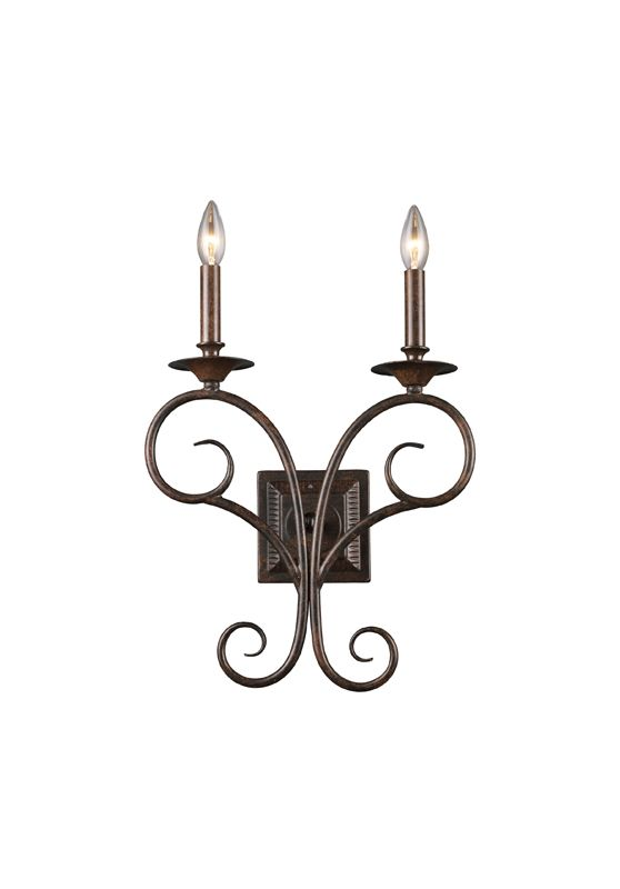 Elk Lighting 15040/2 Two Light Wallchiere from the Gloucester