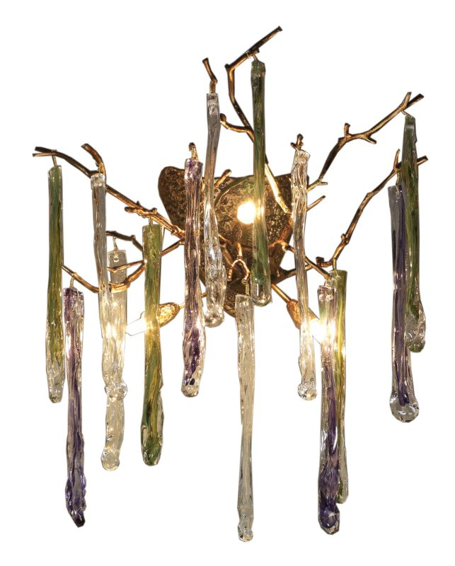 Elk Lighting 1700/4 Crystal Down Lighting Wall Sconce from the