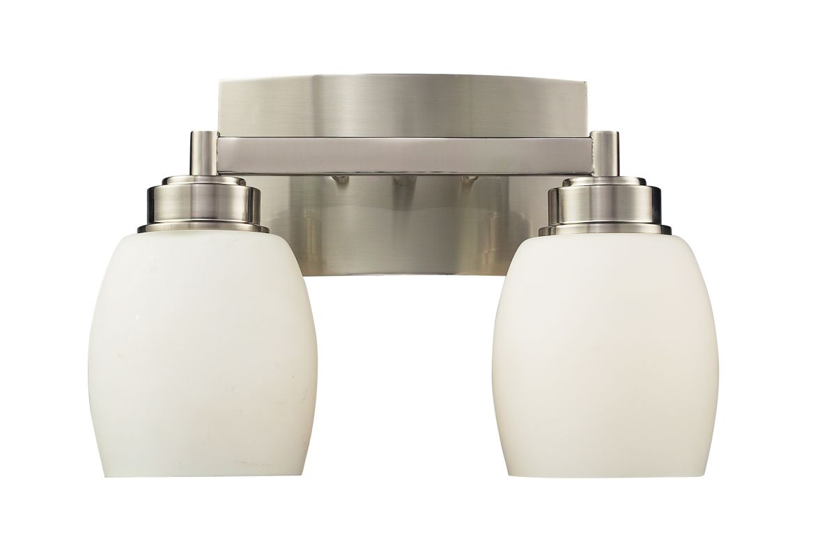 "Elk Lighting 17101/2 Northport 2 Light 13"" Vanity Fixture with Frosted"