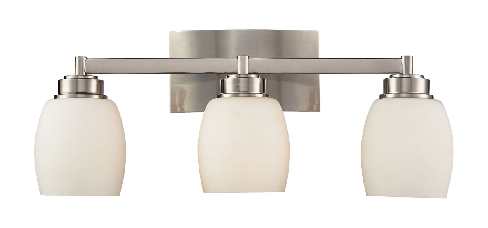 "Elk Lighting 17102/3 Northport 3 Light 20"" Vanity Fixture with Frosted"