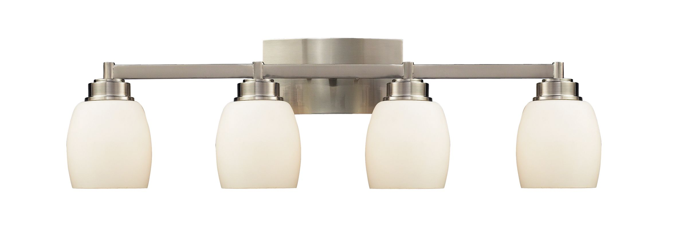 "Elk Lighting 17103/4 Northport 4 Light 28"" Vanity Fixture with Frosted"