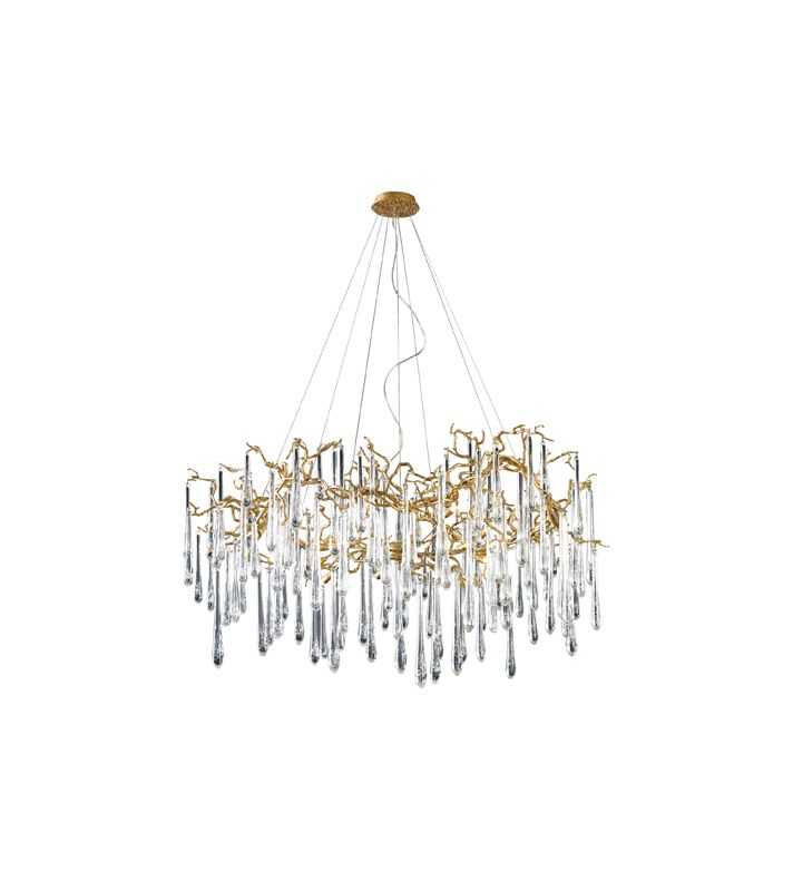 Elk Lighting 1747/15 Fifteen Light Chandelier from the Veubronce