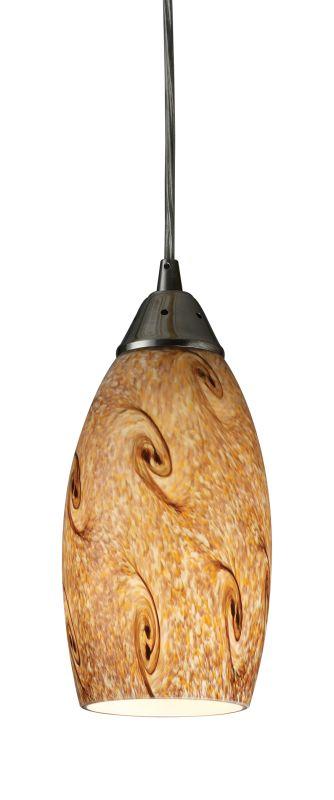 Elk Lighting 20001/1 Single Light Down Lighting Mini Pendant from the