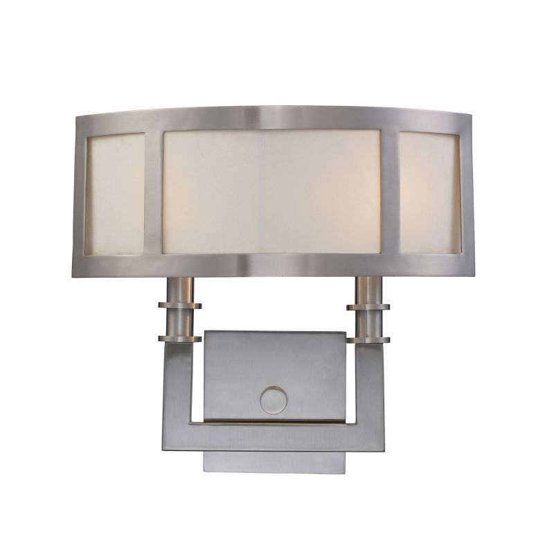 Elk Lighting 20151/2 Nickel Contemporary Seven Springs Wall Sconce