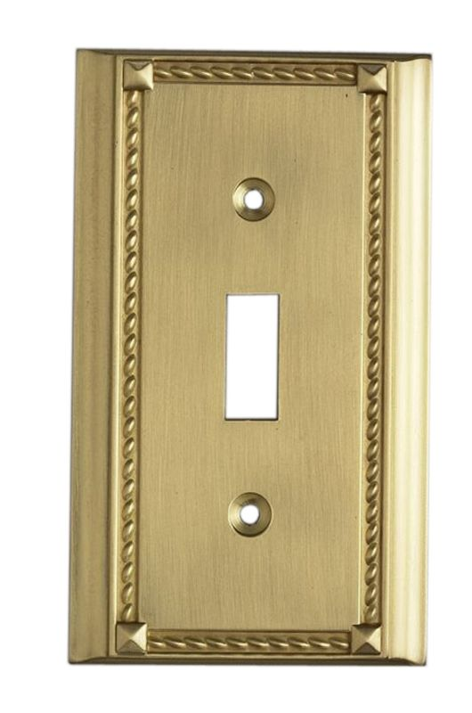 Elk Lighting 2501 Clickplates Collection Cast Metal Light switch Cover Sale $11.00 ITEM: bci253111 ID#:2501BR UPC: 748119004761 :