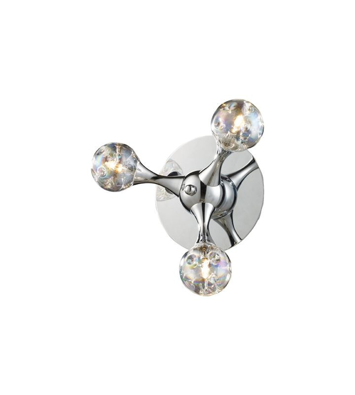 Elk Lighting 30008/3 Three Light Wall Sconce from the Molecular