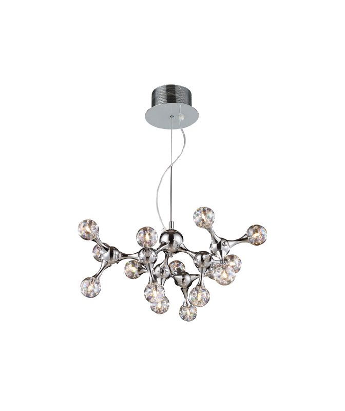 Elk Lighting 30025/15 Fifteen Light Chandelier from the Molecular Sale $592.00 ITEM: bci1287411 ID#:30025/15 UPC: 748119011271 :
