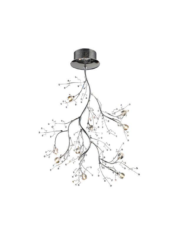 Elk Lighting 30033/10 Ten Light Semi-Flush Ceiling Fixture from the Sale $1008.00 ITEM: bci1287876 ID#:30033/10 UPC: 748119011356 :