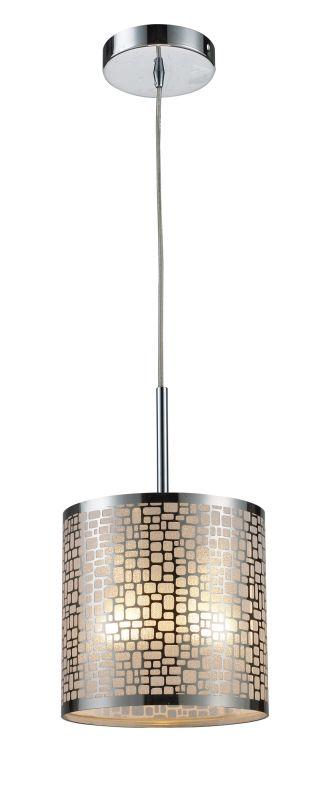 "Elk Lighting 31041/1 Medina Single Light 8"" Wide Mini Pendant with"