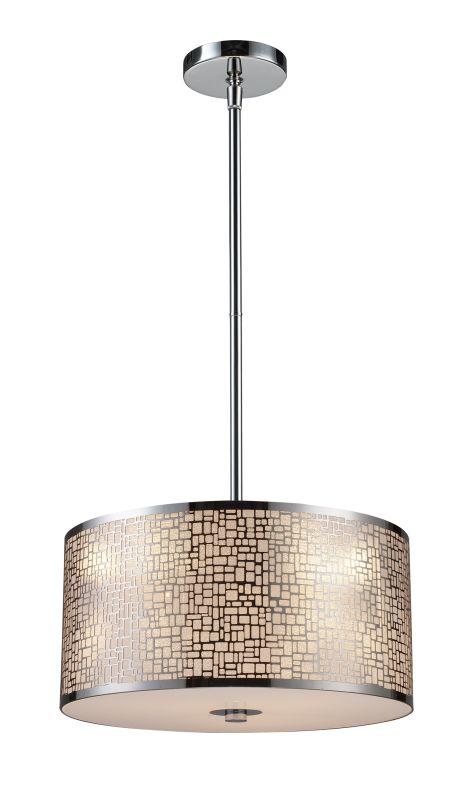 "Elk Lighting 31042/3 Medina 3 Light 16"" Wide Pendant with Round Canopy"