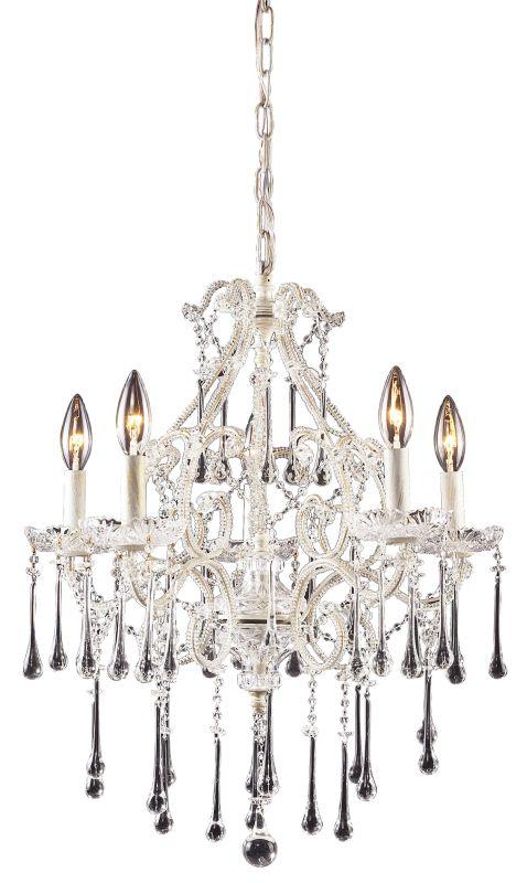 Elk Lighting 4002/5 Opulence 5 Light 1 Tier Mini Crystal Chandelier Sale $550.00 ITEM: bci73411 ID#:4002/5CL UPC: 748119400235 :