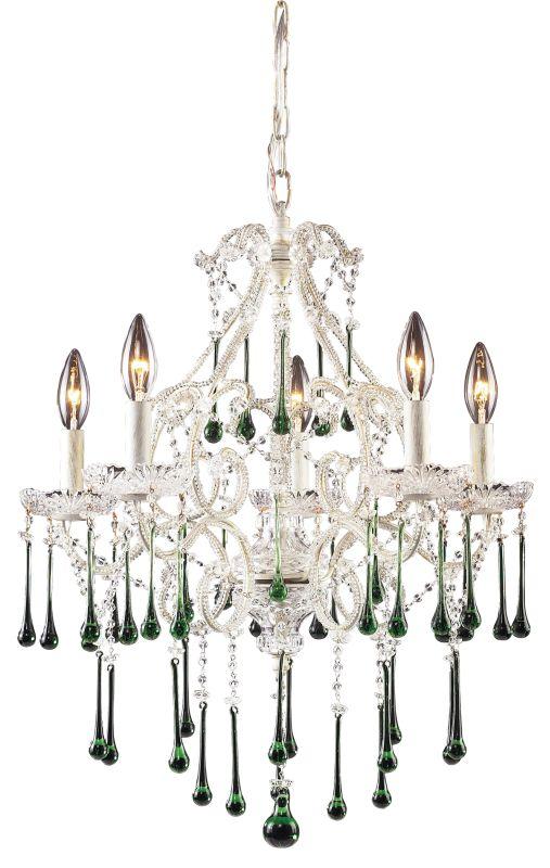 Elk Lighting 4002/5 Opulence 5 Light 1 Tier Mini Crystal Chandelier Sale $550.00 ITEM: bci73412 ID#:4002/5LM UPC: 748119400259 :